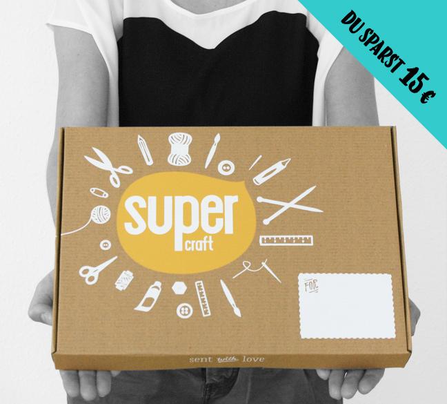 3 supercraft Kits als Geschenk / 29,95 Euro pro Kit