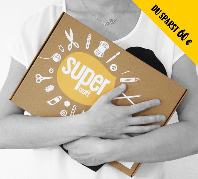 6 supercraft Kits im Abo