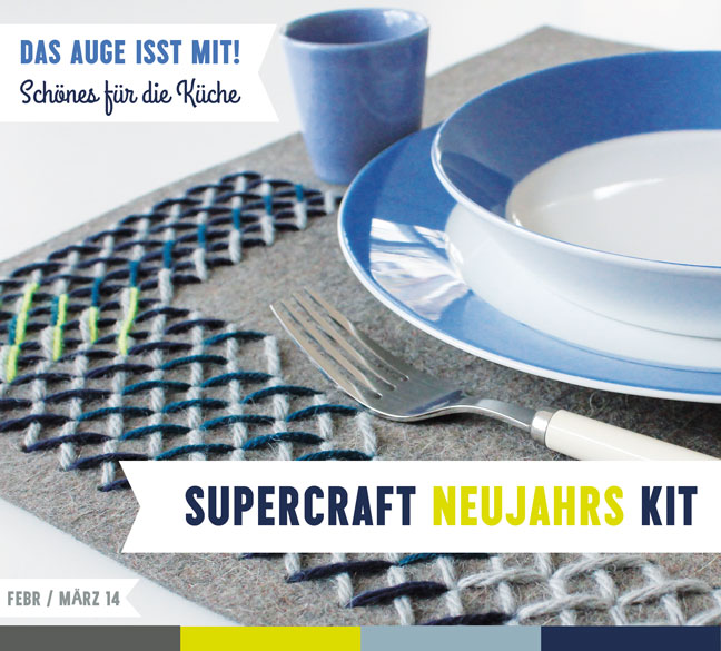 2 supercraft Kits im Set / Neujahr 2014 & 2015