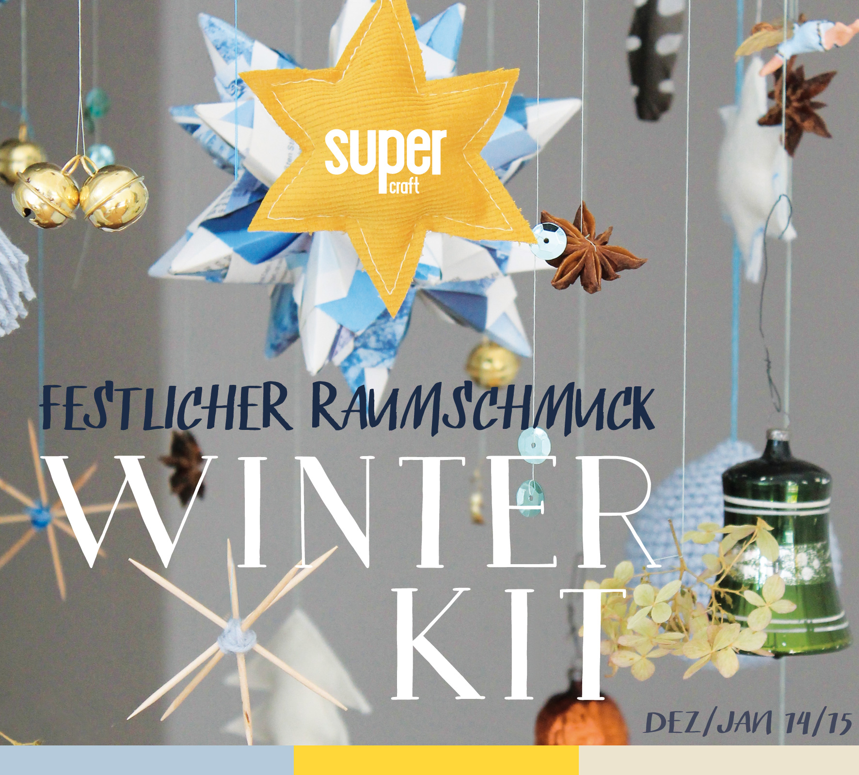 2 supercraft Kits im Set / Winter 2014 & 2015