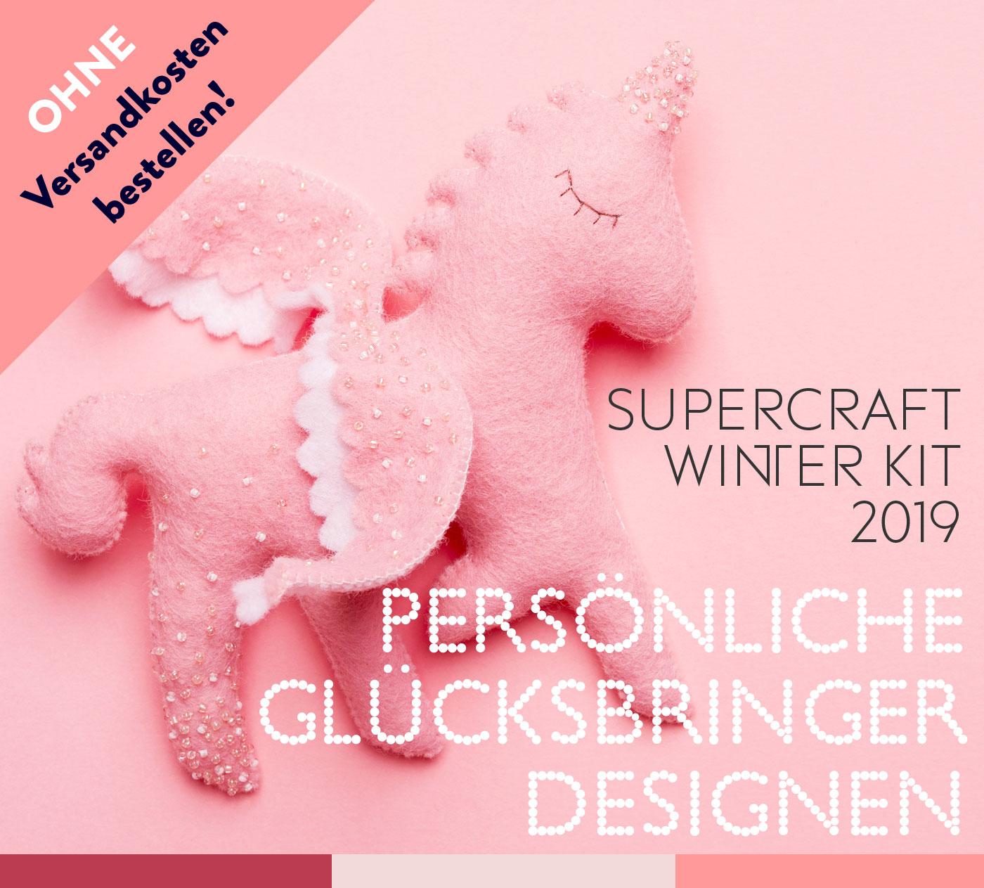 6 supercraft Kits für 24,95 Euro pro Kit