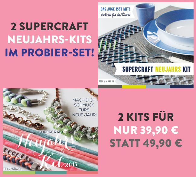 2 supercraft Kits im Set (10 & 16 )