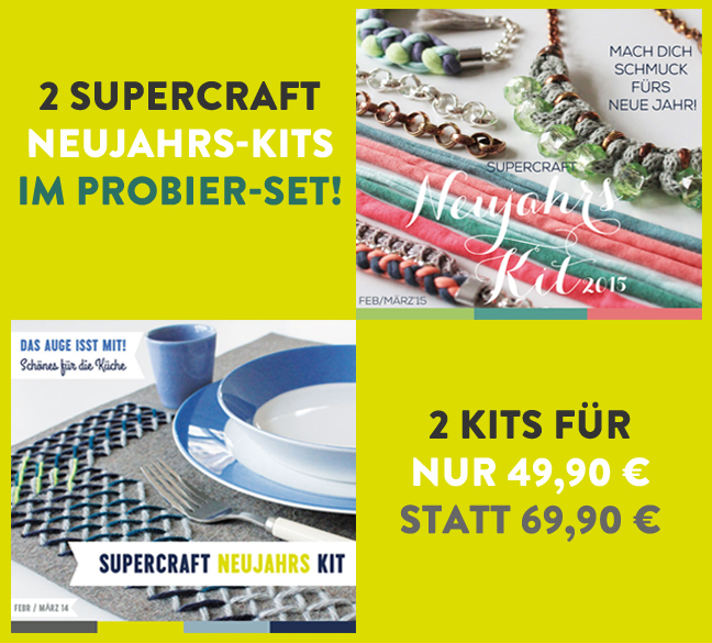 2 supercraft Kits im Set (11 & 17)
