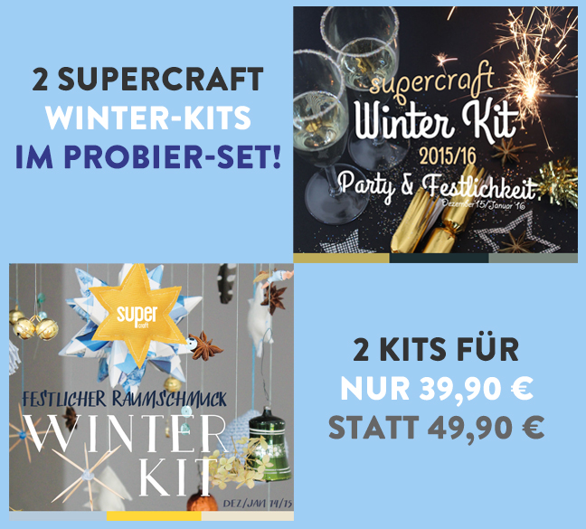2 supercraft Kits im Set (15 & 21)