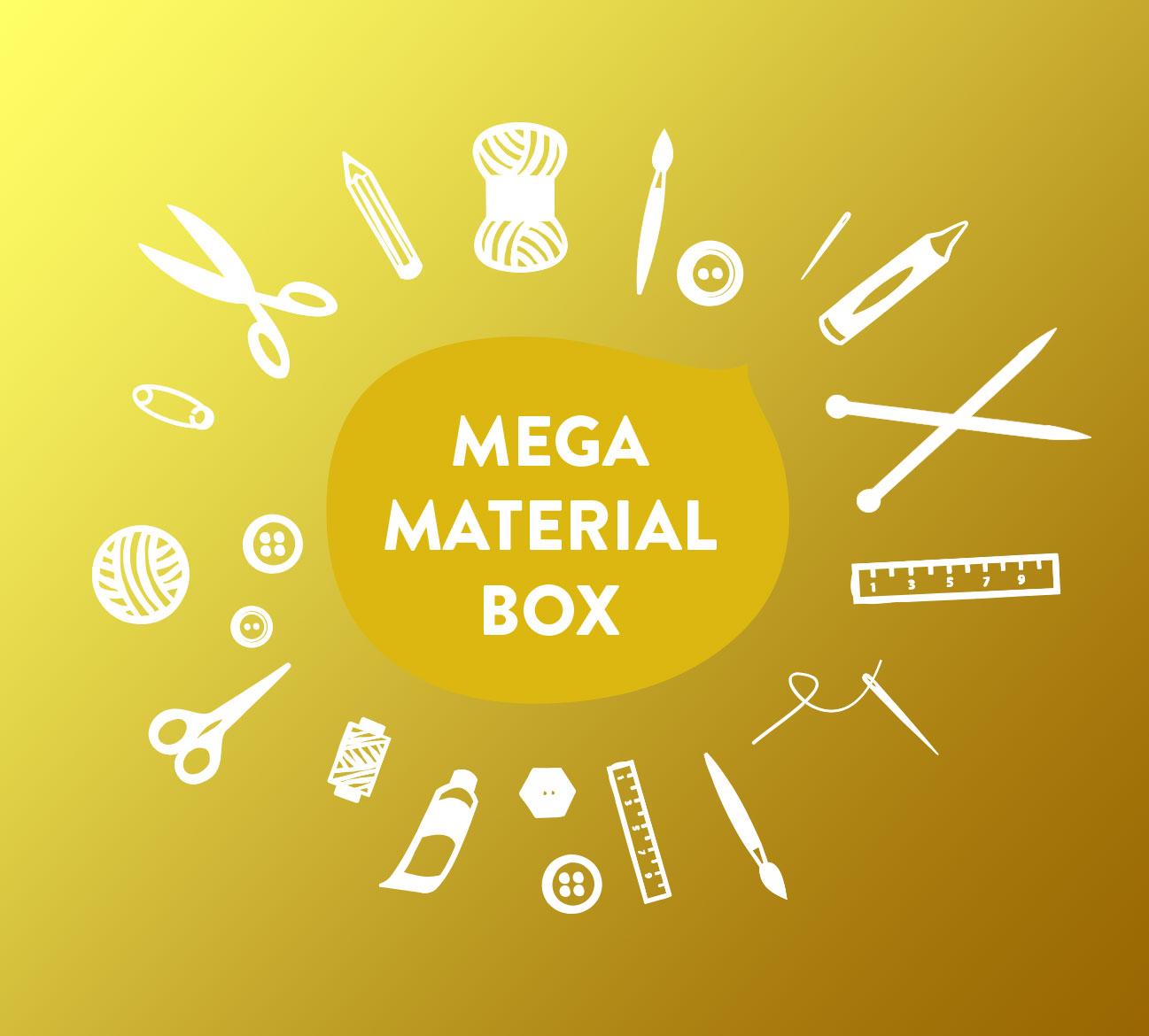 Mega-Materialbox