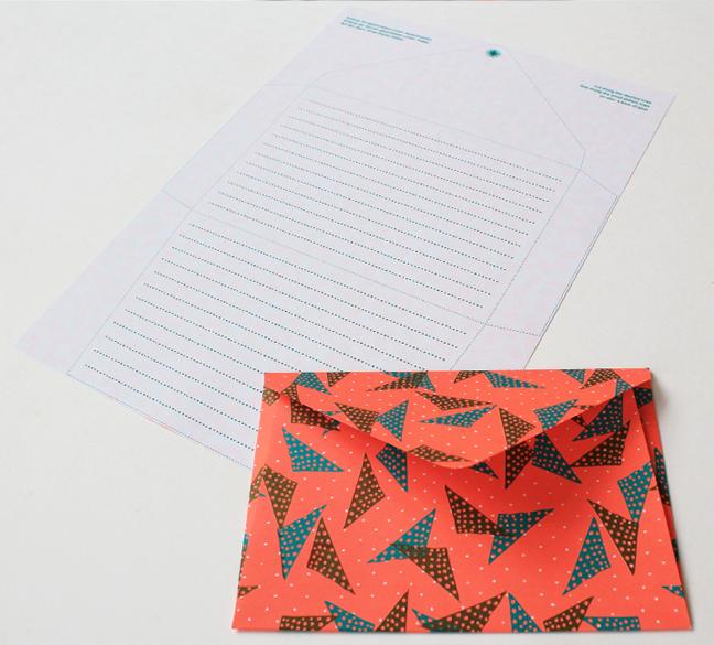 Neon-Musterpapier