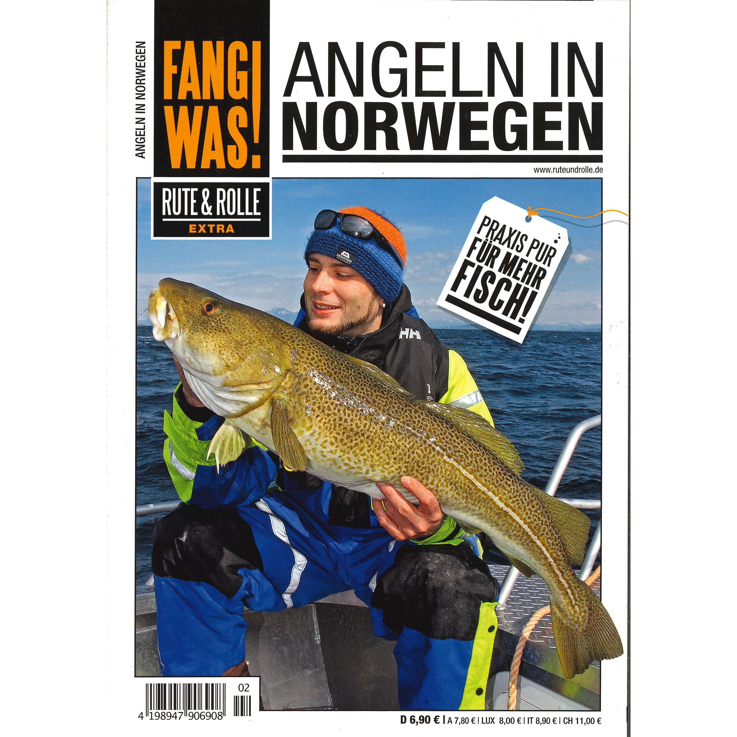 Angeln in Norwegen - Fang was!